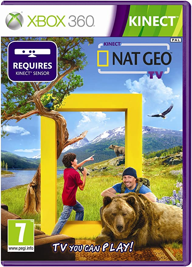 Kinect Nat Geo TV (Xbox 360) [Importación inglesa]: Amazon.es: Videojuegos