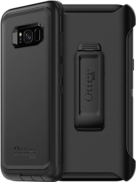 quality design 109c3 ad53d OtterBox Defender Series Case for Samsung Galaxy S8 Plus (ONLY) -  Non-Retail Packaging - Black