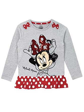 c0c0bd4e3 Disney Minnie Mouse - Camiseta para niñas - Minnie Mouse  Amazon.es  Ropa y  accesorios