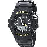 Casio Men's G-Shock G100-9CM Black Resin Sport...