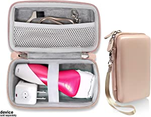 getgear Shaver Case for Panasonic Electric Shaver for Women, Close Curves Electronic Shaver, ES2216PC, Good for Home Storage and Travel, mesh Pocket, Featured Wrist Strap