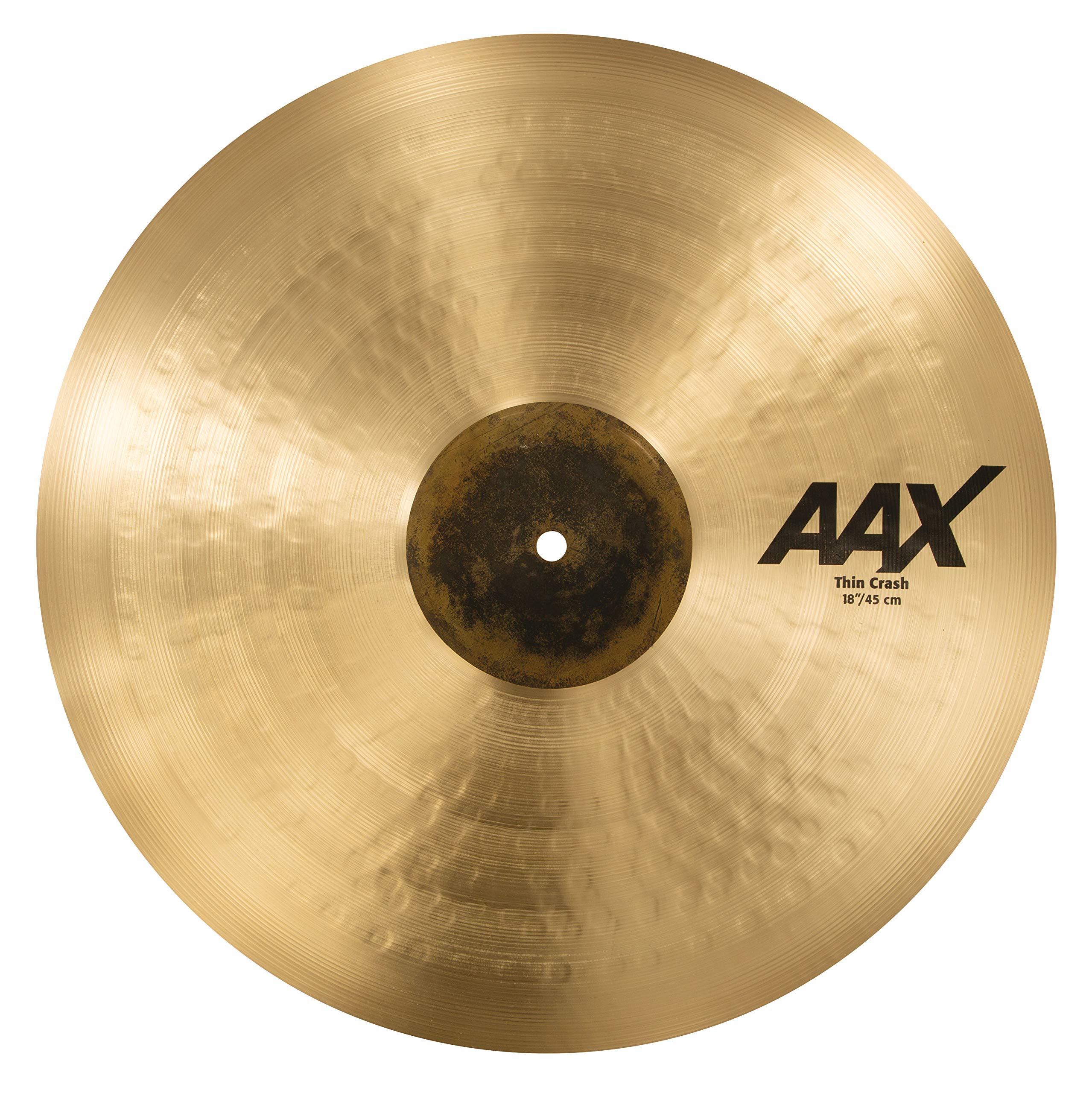 Sabian Crash Cymbal AAX Thin Natural Finish 18'' 21806XC