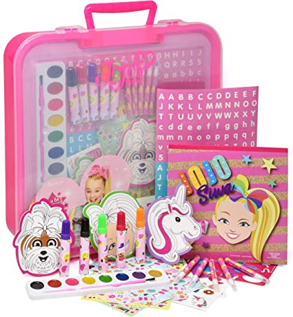 Amazon.com: JoJo Siwa Coloring And Activity Art Tub, Includes Markers,  Stickers, Mess Free Crafts Color Kit In Art Tub, For Toddlers, Boys And  Kids: Toys & Games