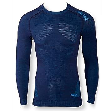 dae825a3a0f Gatta T-Shirt Laine mérinos sous-vêtements Thermiques sous-vêtement de Ski M