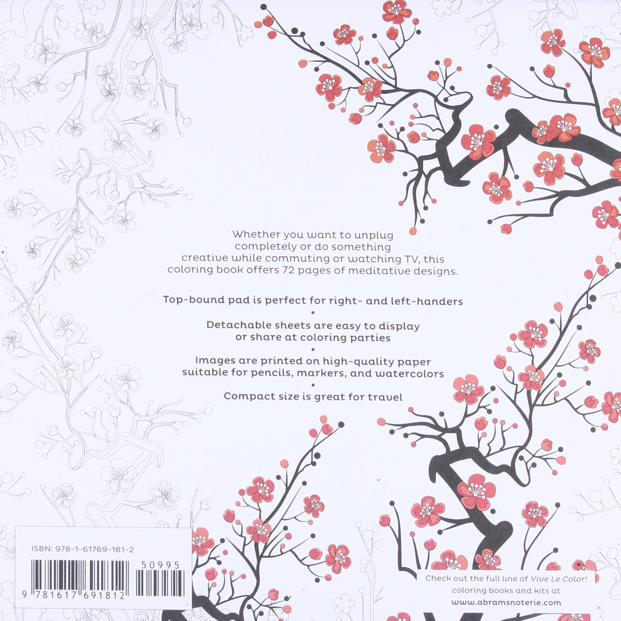 Amazoncom Vive Le Color Japan Adult Coloring Book Color In