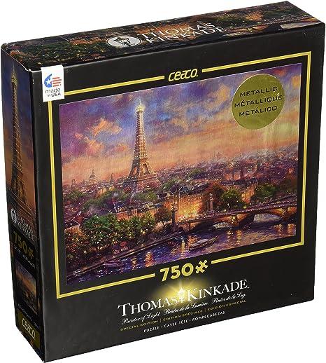 """Jigsaw Puzzles 1000 Pieces /""""Paris Thomas Kinkade city of love/"""""""