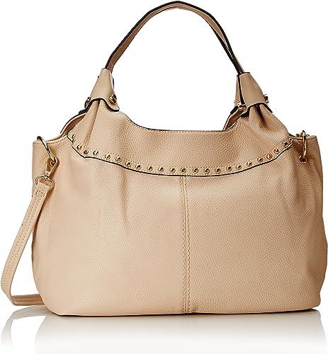 NEW! MG Collection Adora Studded Shoulder Bag