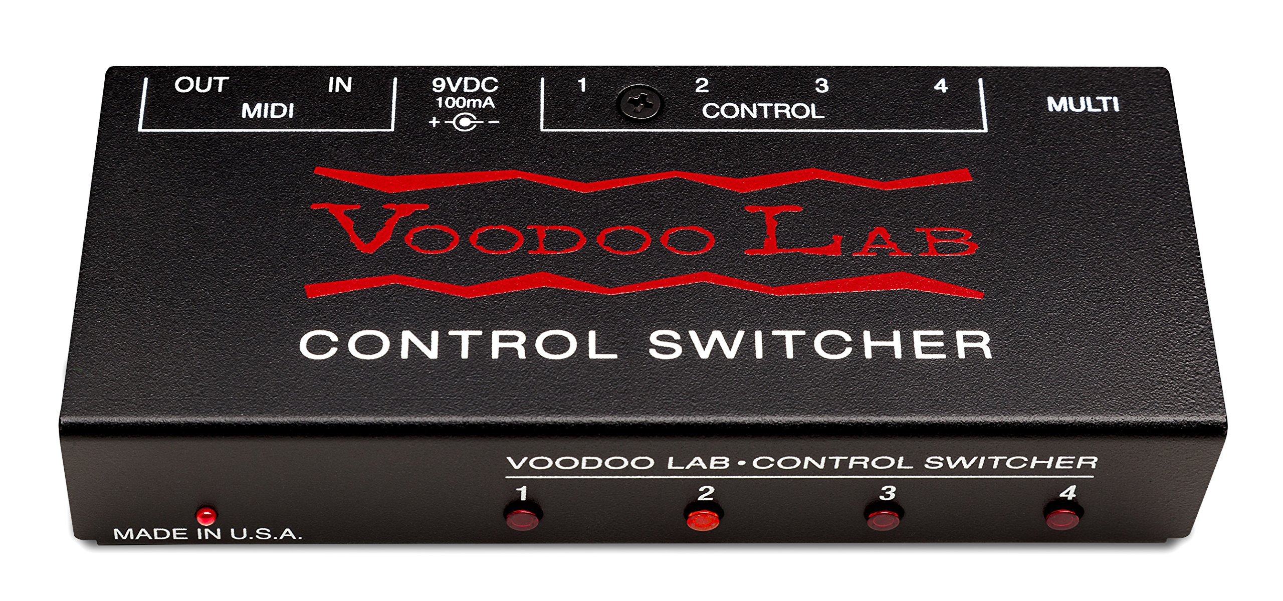 Voodoo Lab Control Switcher MIDI Amp Commander