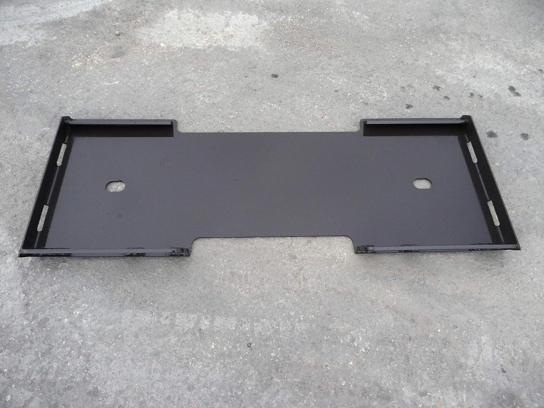 Skid Steer Bobcat Loader Attachment Quick Connect Blank Mount Weld Plate Skid Steer Attachment Depot