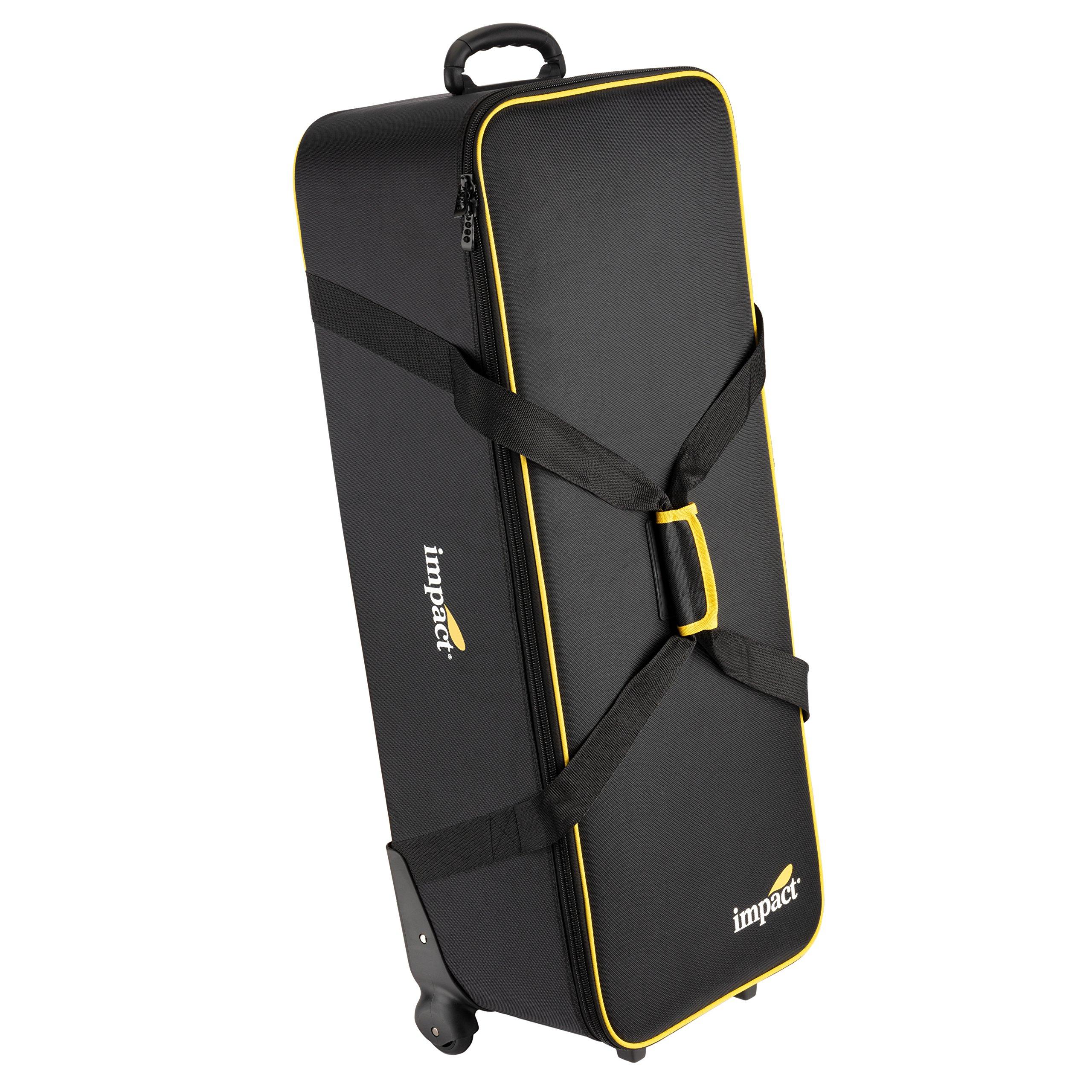 Impact LKB-R2 Light Kit Roller Bag #2 V2 (Medium, Black) by Impact