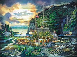 product image for Buffalo Games - Charles Wysocki - Moonlight & Roses - 1000 Piece Jigsaw Puzzle