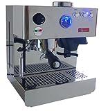 Acopino Espressomaschine Milano edelstahl mit integrierter Kaffeemühle