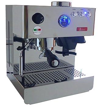 Máquina de café espresso Acopino Milano de acero inoxidable con molinillo de café: Amazon.es: Hogar