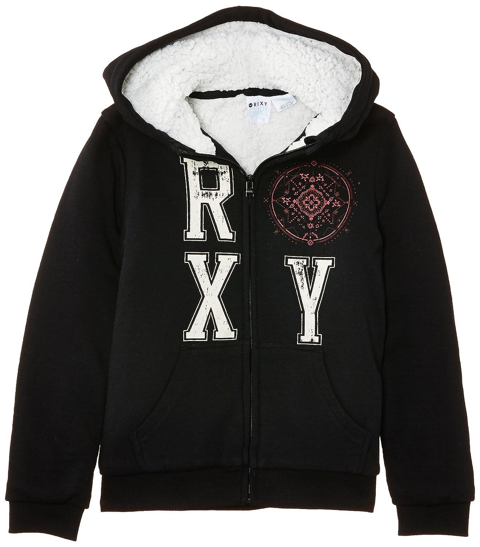 Roxy Miss Sudadera para niña color negro talla 10 años (140 cm) ERGSF03005
