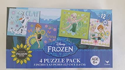 Frozen 4 Puzzle Pack