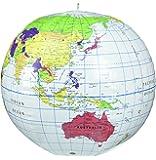 地球儀 ビーチボール型