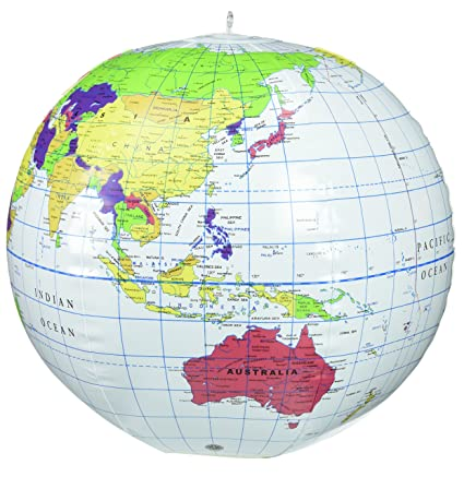 Learning Resources Inflatable Globe (12-inch)