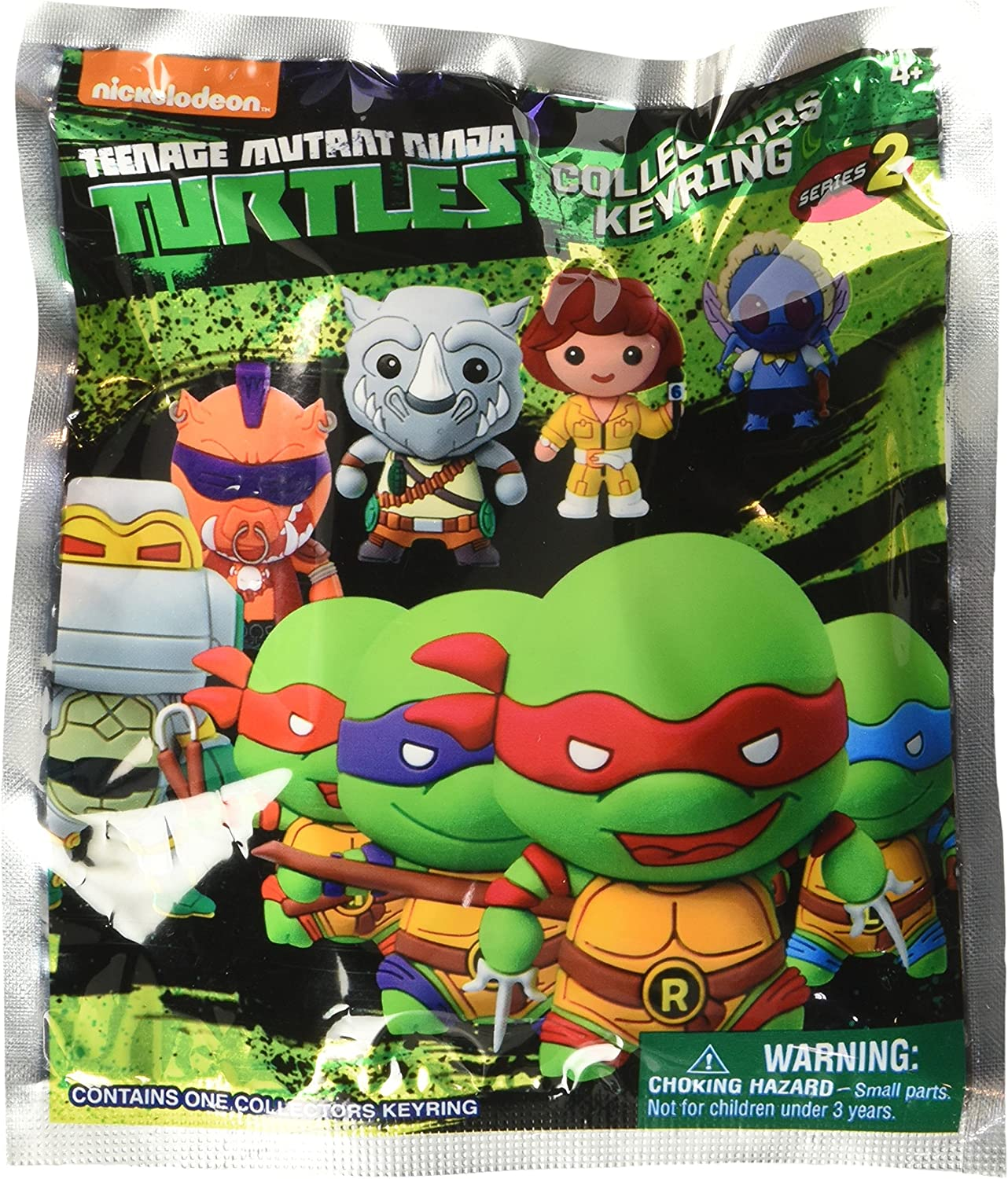 Nickelodeon Teenage Mutant Ninja Turtles Series 2 3D Foam Blind Bag