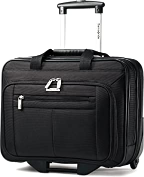 Samsonite Classic Wheeled Business Case, Black, 16.5 x 8 x 13.25-Inch