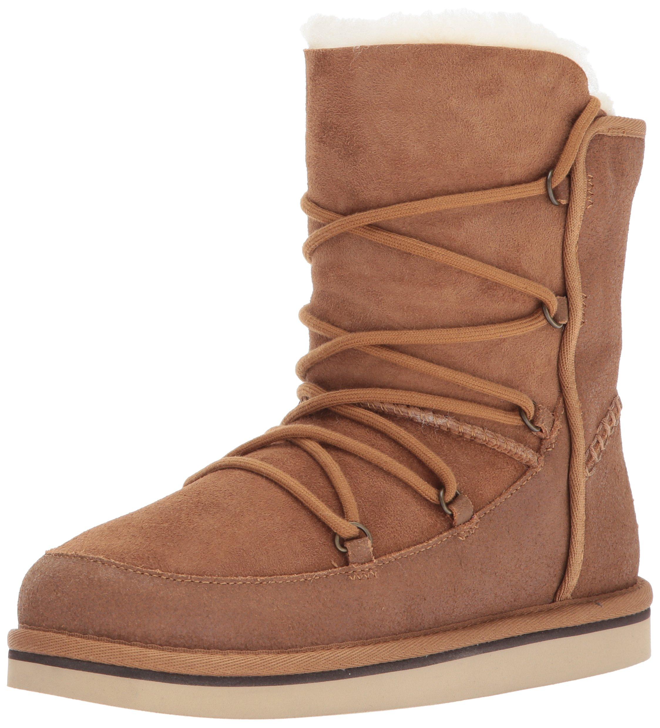 UGG Kids K Eliss Pull-on Boot, Chestnut, 5 M US Big Kid