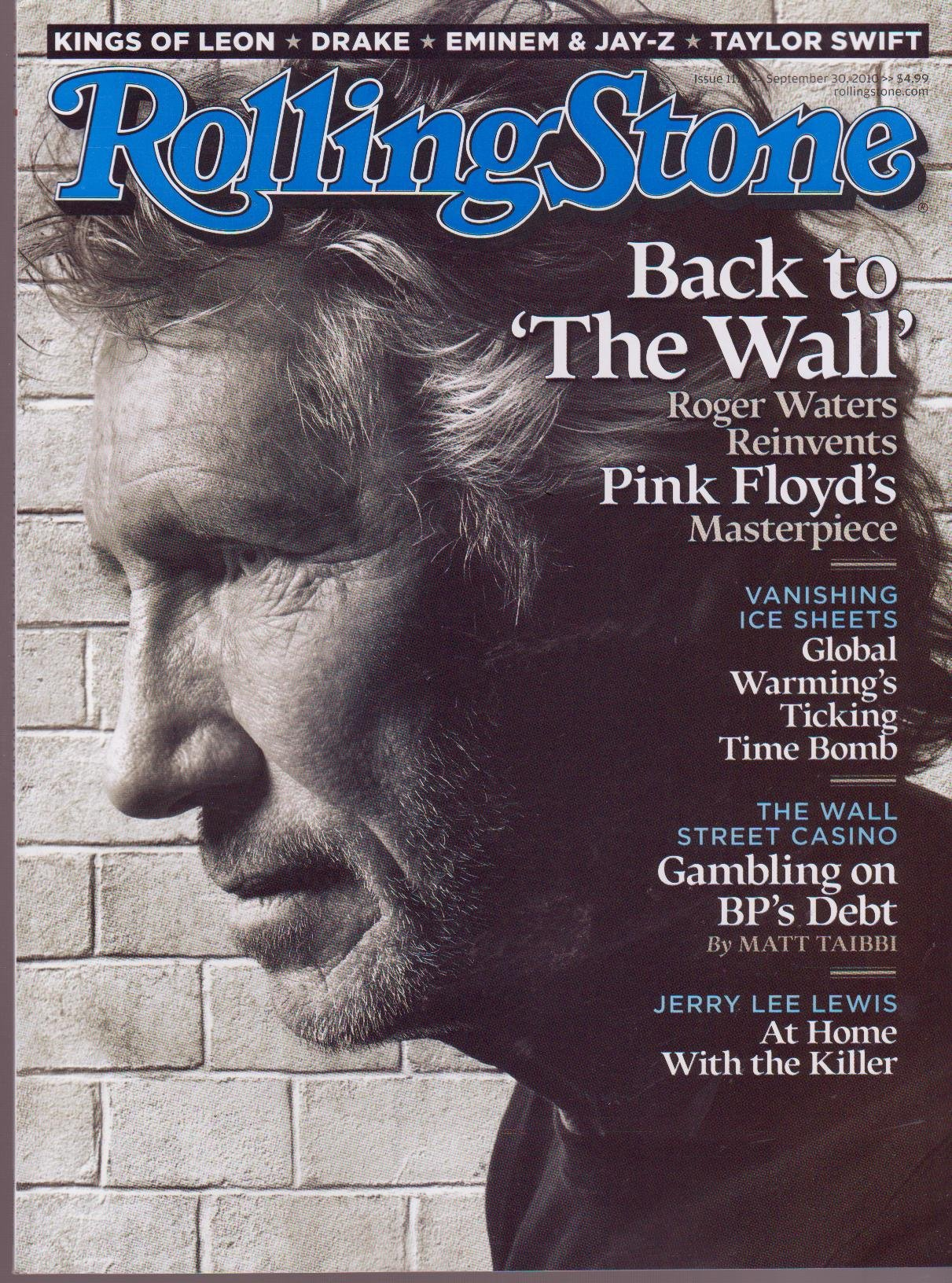 "Download ROLLING STONE Magazine (Sept 30, 2010) Back to ""The Wall"" pdf epub"