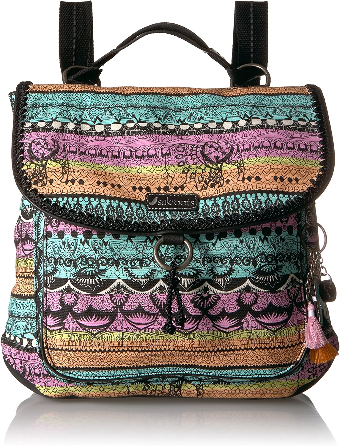 Sakroots Womens Convertible Backpack