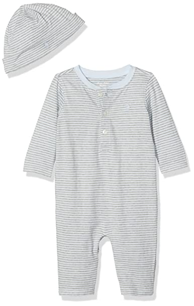 Polo Ralph Lauren Yd Jersey-Henley Cvrll-AC-GBX Gift Box Set, Pelele Unisex bebé: Amazon.es: Ropa y accesorios