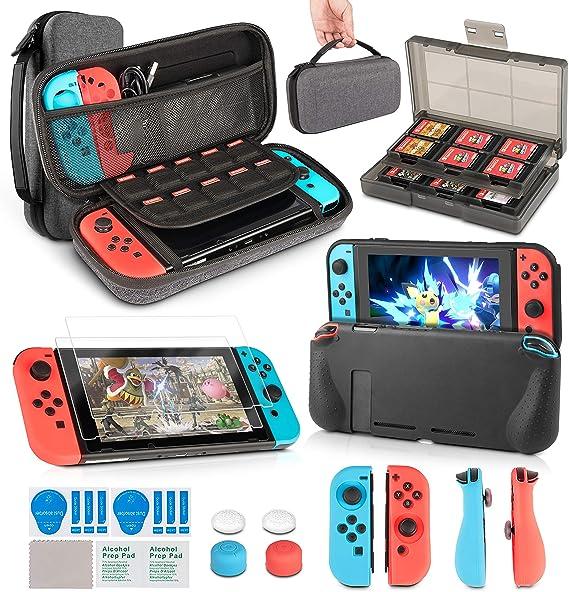 Kit de accesorios para Nintendo Switch, inaura 11 en 1 Switch ...