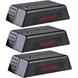 Victor M250S No Touch, No See Upgraded Indoor Electronic Mouse Trap - 3 Traps