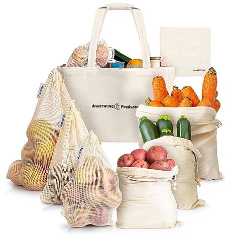 Amazon.com: ArmStrong - Bolsas reutilizables para la compra ...