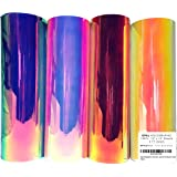 """OPAL HOLOGRAPHIC Vinyl Sheets 12"""" x 12"""" 