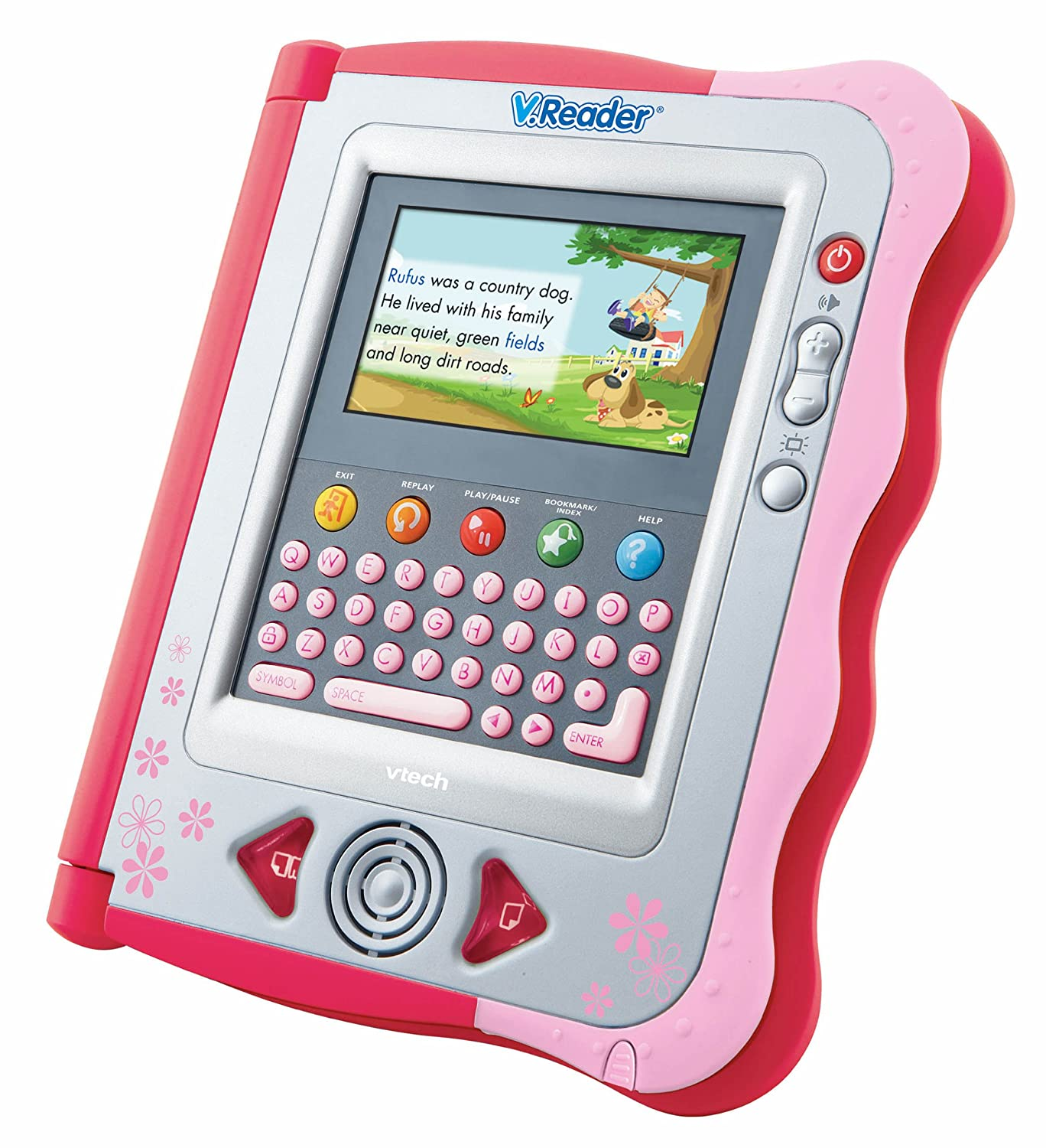 amazon com vtech v reader animated e book system pink toys games rh amazon com VTech V.Reader Case VTech V.Reader Mr Men