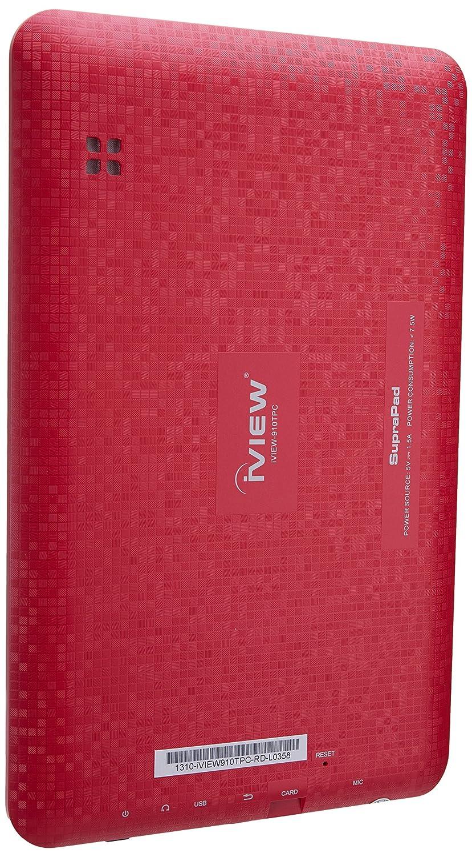 IVIEW 910TPC 910TPCRD 9-Inch 1 GB Tablet (Red)