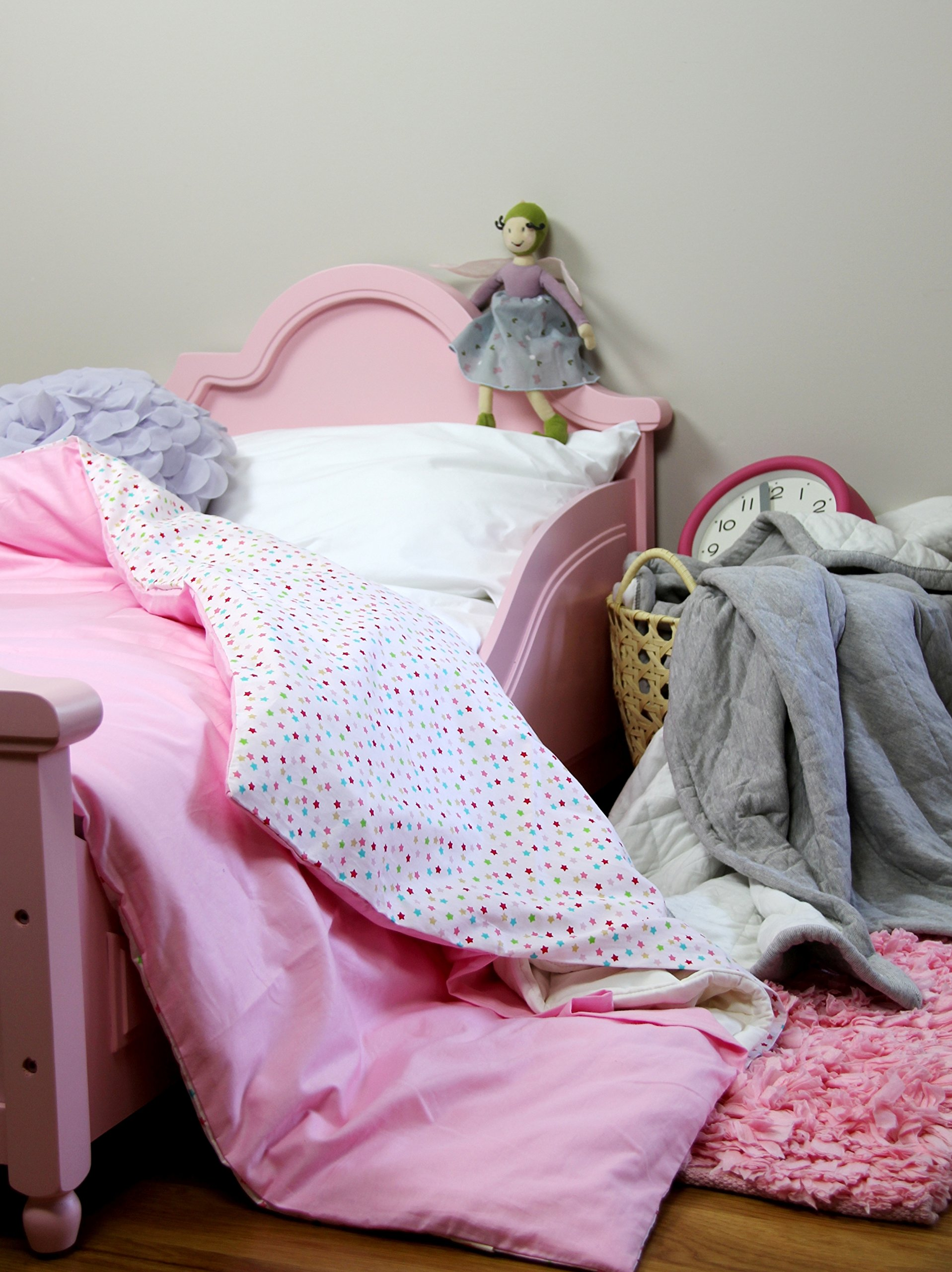 Cotton Flower Toddler Quilt (Quilt + Duvet Cover), Warmer (Fairyland) by Cotton Flower Baby