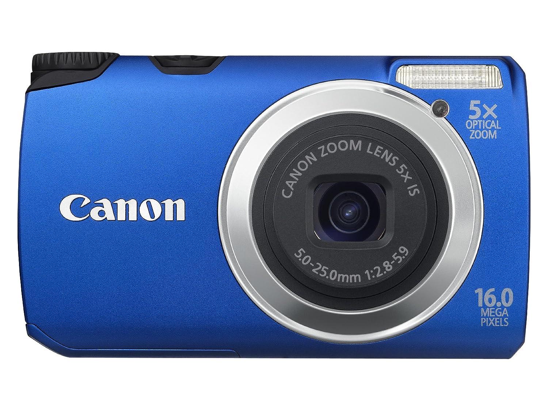 Canon PowerShot A3300 IS - Cámara Digital Compacta 16 MP (3 pulgadas LCD, 5x Zoom Óptico): Amazon.es: Electrónica