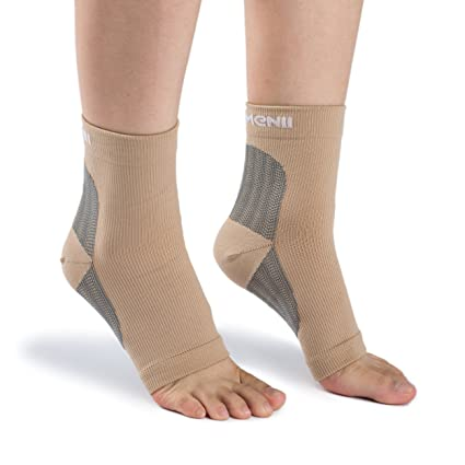 e373ebc1f2 COMENII Plantar Fasciitis Socks BETTER THAN Night Splint for Men & Women, Compression  Foot Sleeves Increase Circulation, Ankle/Heel Brace Arch Support ...