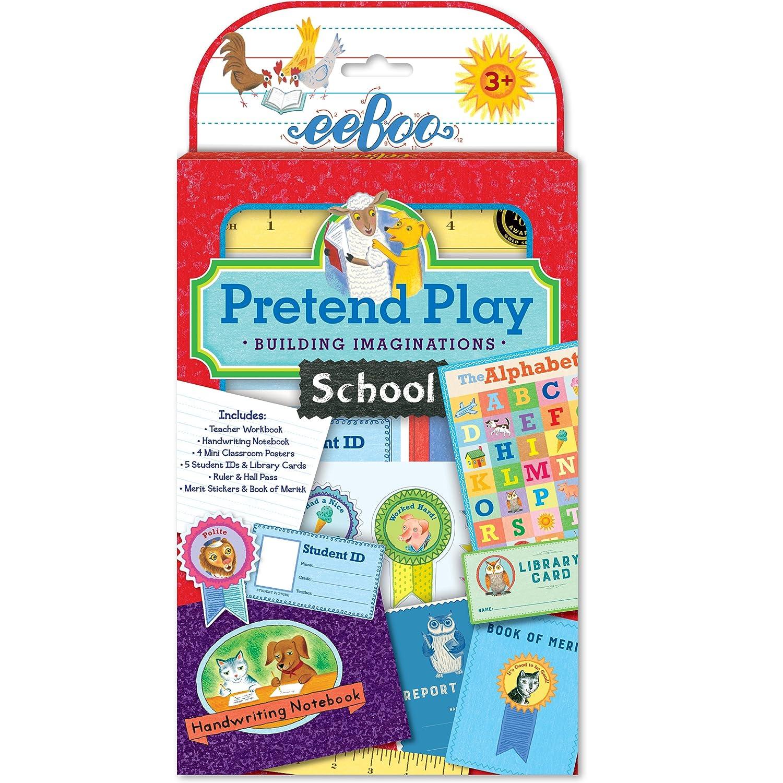 Amazon.com: eeBoo Pretend Play, Best Pals\' Diner Set: Toys & Games
