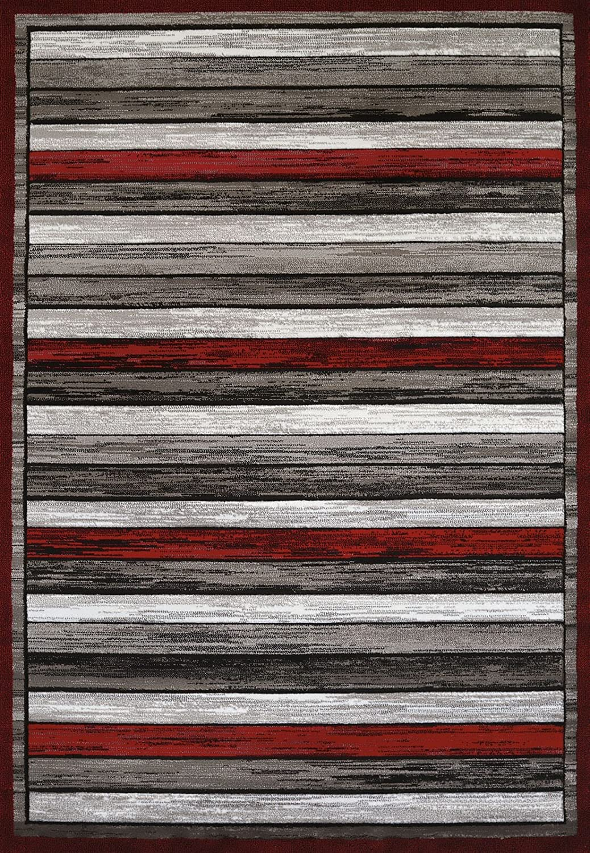 """United Weavers of America Painted Deck Rug, 7'10"""" x 10'6"""", Scarlet"""