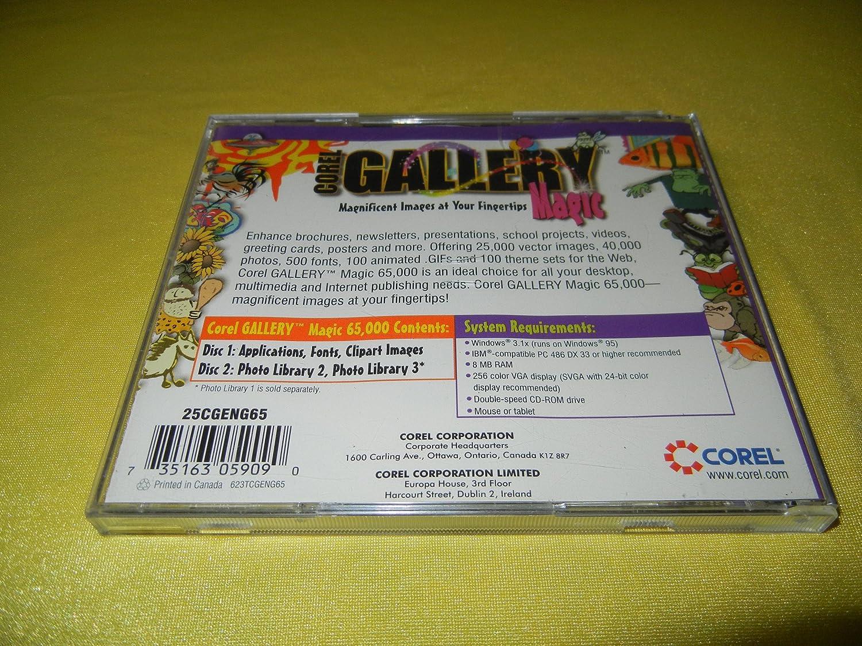 Corel Gallery Magic 65,000