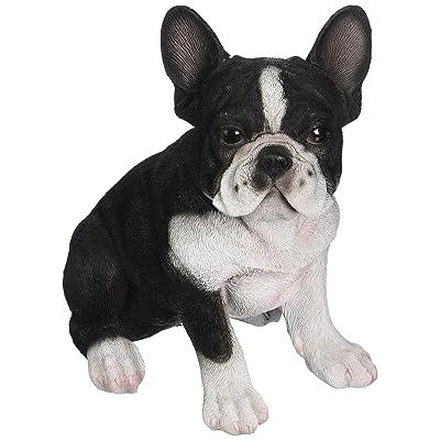 Hi-Line Gift Ltd Sitting French Bulldog Puppy Statue : Garden & Outdoor