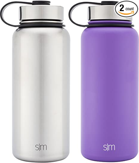 9fc566526c Simple Modern 32oz Summit Water Bottle 2 Pack - Two Vacuum Insulated 18/8  Stainless