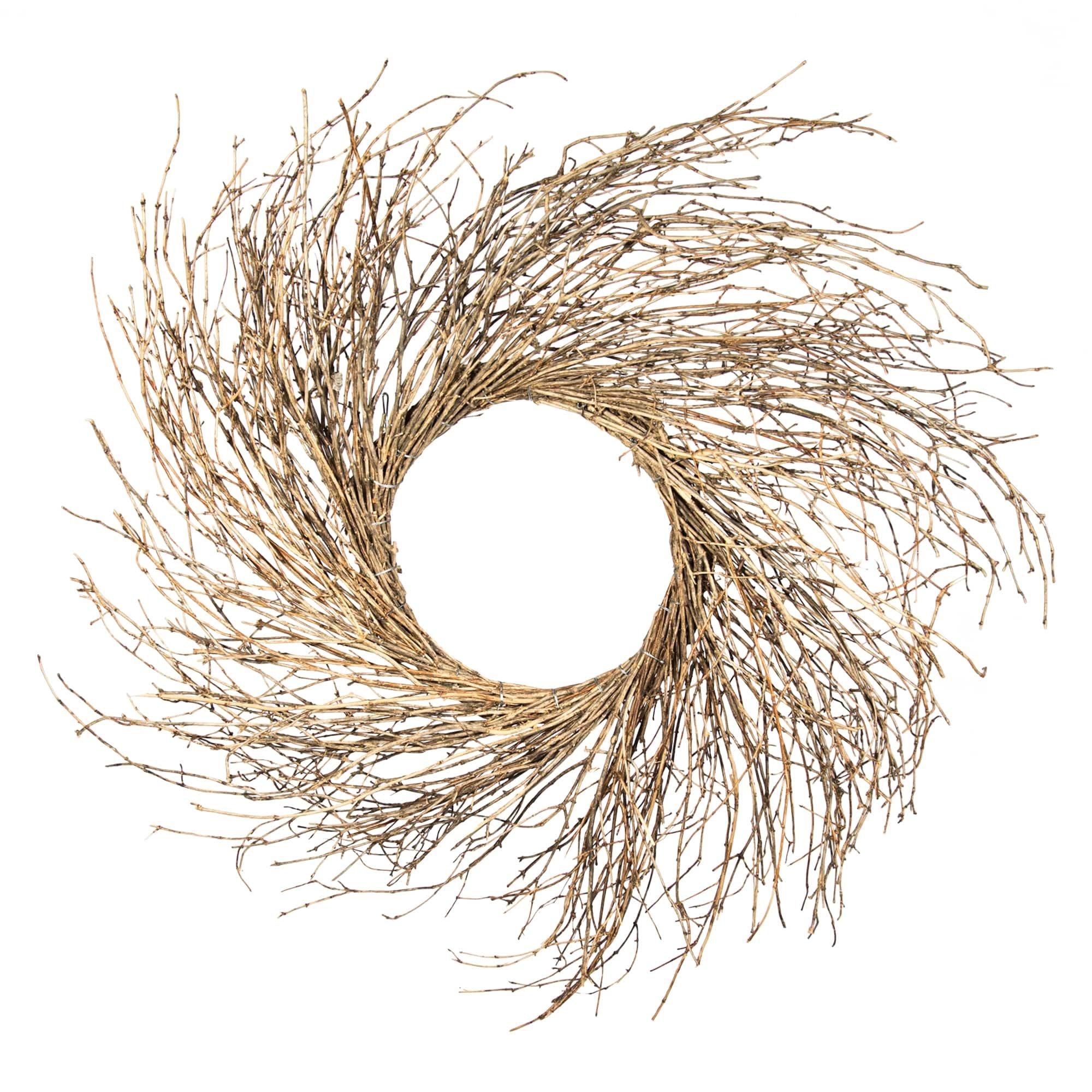 Shine Company 6632 Grapevine Sunburst Wreath, 36'', Natural