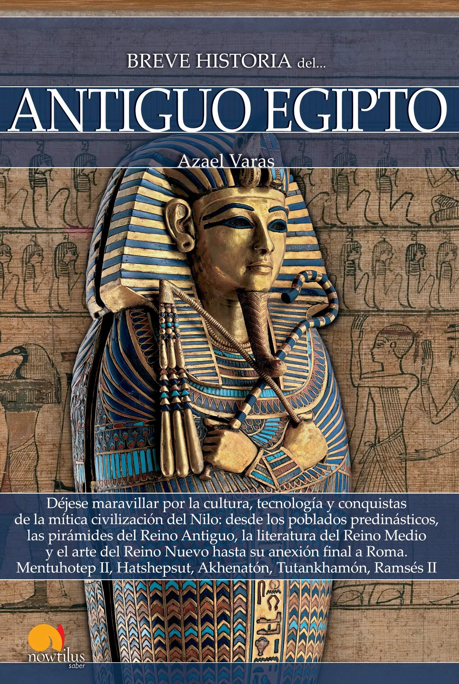 Breve historia del Antiguo Egipto: Amazon.es: Varas Mazagatos ...