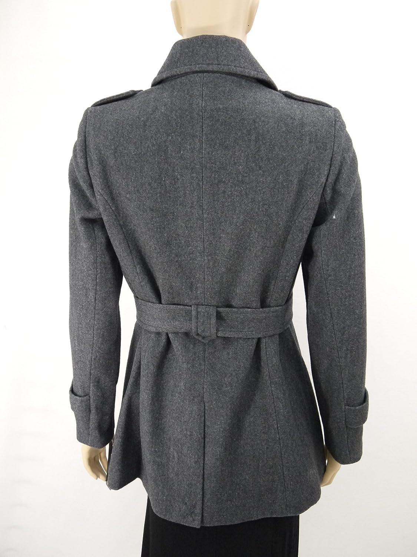 Womens Wool Coat with belt-M