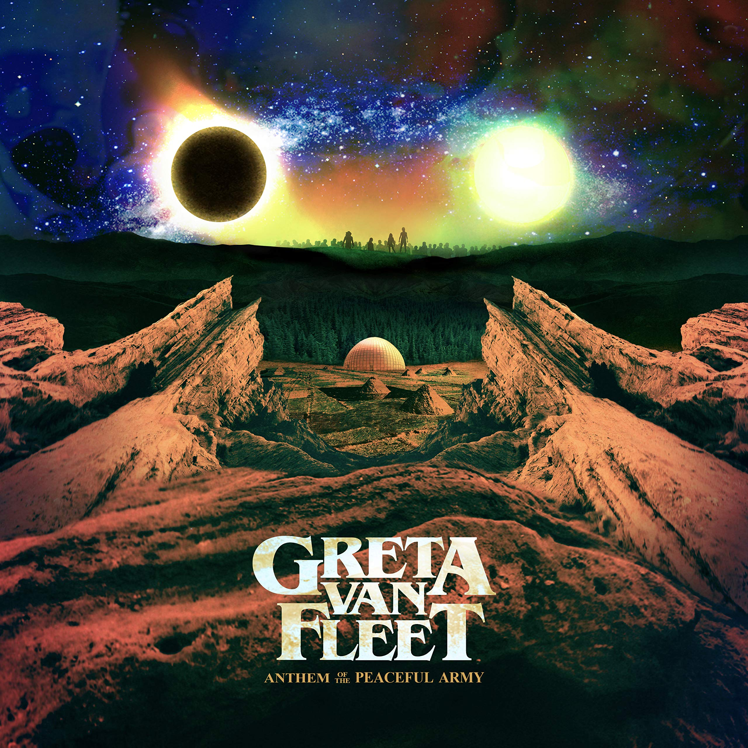 Vinilo : Greta Van Fleet - Anthem Of The Peaceful Army (LP Vinyl)