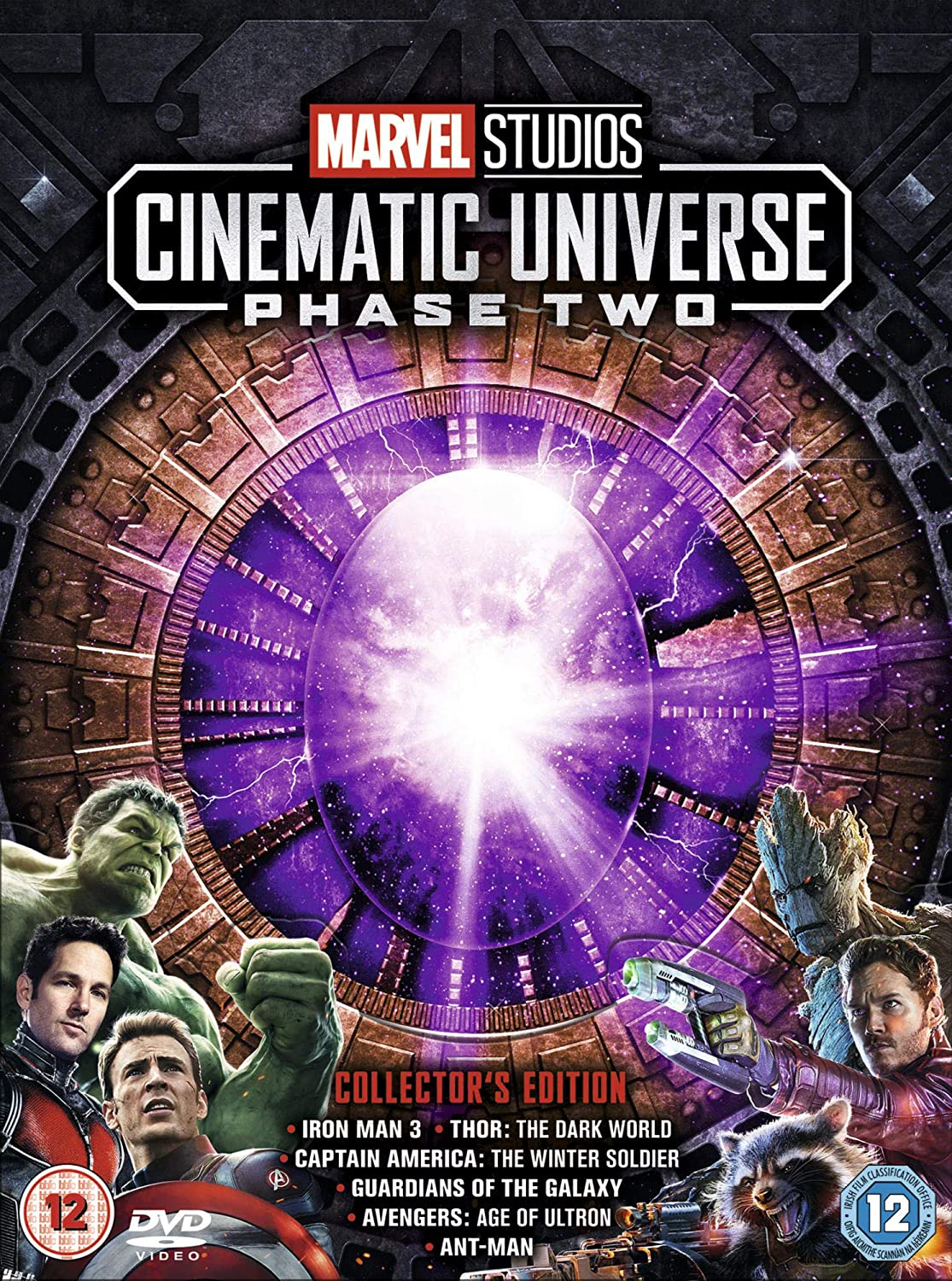 Marvel Cinematic Universe Phase 2 [Italia] [DVD]: Amazon.es: Cine y Series TV