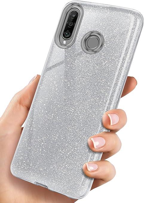 Oneflow Glitzer Hülle Kompatibel Mit Huawei P30 Lite Elektronik