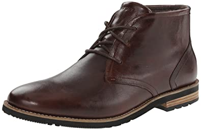 Rockport Men's Ledge Hill 2 Chukka Boot Dark Brown 7 W (EE)-7