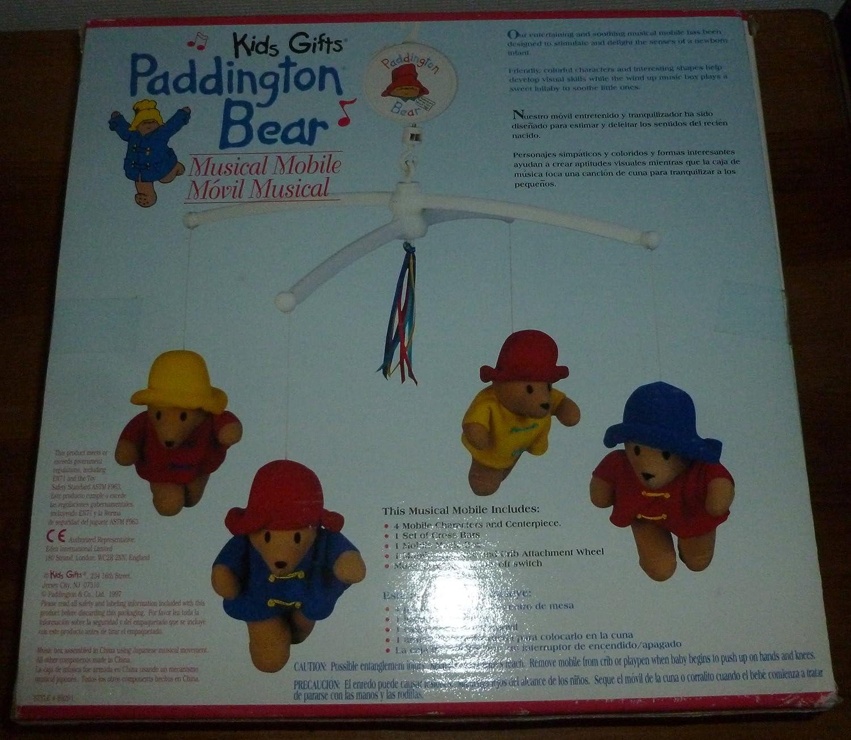 Amazon.com : Paddington Bear Musical Mobile Crib : Electronic Infant ...