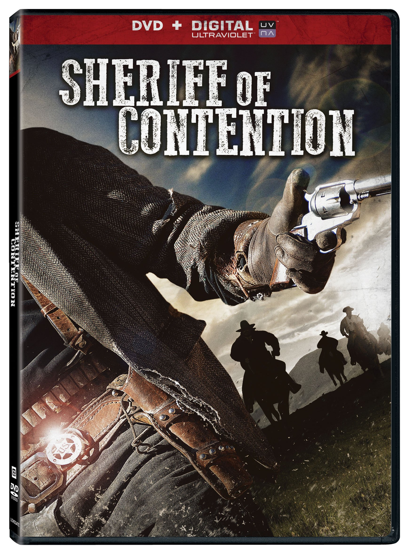 DVD : Sheriff of Contention (Full Frame, Ultraviolet Digital Copy, AC-3, Dolby, )